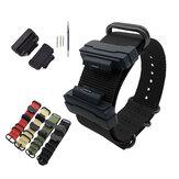Bakeey 22mm Nylon Kayış Değiştirme İzle Band TPU Dönüşüm Kit & Pins ile Casio G-SHOCK GA-110 DW-5600 GLS GA