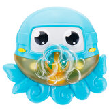 Bath Water Toys Baby Kids Sucker Octopus Carton MUSIC Bubble Automatic Play Fun