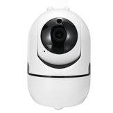 GUUDGO 1080P 2MP Dual Antena Áudio bidirecional Segurança IP Câmera Câmera de visão noturna para detecção de movimentos