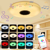 36W 60W Modern LED Music Ceiling Light bluetooth Speaker Multi Color Bedroom Lamp AC220V