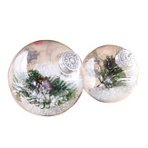 Super Clear Plastic Balls DIY Christmas Trees Hanging Bauble Decoration Toys