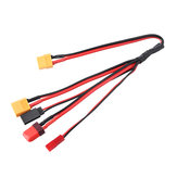 4 in 1 Multi-Charging Cable XT60 Plug to T F utaba XT60 JST Plug Wire