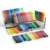 M&G 12/18/24/36/48 Cores Triângulo Canetas Aquarela Caneta Graffiti Marcadores de Arte Desenho Esboço Caneta Colorida