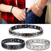 Men Woman Stainless Steel Magnetic Bracelet Therapy Energy Jewelry Health Care