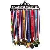 Medalha Esportiva Aceita Desafio cabide Decorações para Organizadores Domésticos de Rack de Exibição de Medalha de Titular