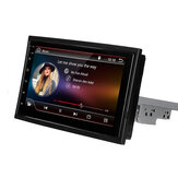 7 Inch 1 Din Android 8.1 Car Stereo Radio Multimedia Player Adjustable Screen Quad Core 1GB+16GB GPS Wifi bluetooth FM AM