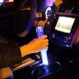 Универсальная 250-миллиметровая 12V ручка переключения передач Crystal Bubble с синим LED Дыхательный свет