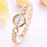 LVPAI Rhinestone Elegant Design Women Bracelet Watch