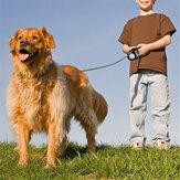 5M laisse de chien extensible rétractable automatique laisse pour animaux de compagnie collier de chien chien de marche