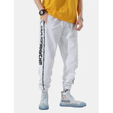 Hombres Trend Loose Street Hip-Hop Beam Pies Tide Sport Pantalones