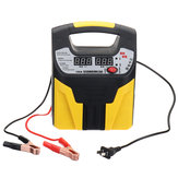 110V 12V/24V Smart Auto Car Battery Charger LCD display Silent Pulse Repair Jump Starter Booster Eightfold Safety Protection 35AH-200AH