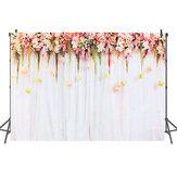 Fondo de fotografía romántica flor rosa Fondo Boda Decoraciones participar