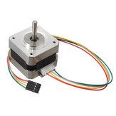 2pcs 42mm 12V Nema 17 Motor de passo bifásico para impressora 3D