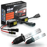 2Pcs Car HID Xenon Headlights Fog Lamp Super Mini Xenon Light Bulbs Set 55W 3200LM 6000K/8000K