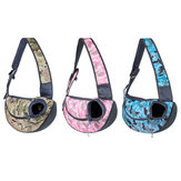 Washable Pet Puppy Cat Dog Carrier Backpack Tote Shoulder Bag Mesh Sling Carrier