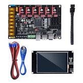 Placa de controle BIGTREETECH SKR Pro V1.1 + Tela de toque TFT35 V2.0 + 6Pcs A4988 Kit de driver para impressora 3D Parte peça