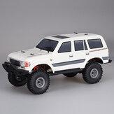 1/18 2.4G Mini Caminhão Off-road Indoor RC Car Motor À Prova D 'Água 3Line Modelos de Veículos Servo Rock Crawler