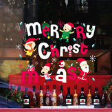 Miico XL616 Christmas Sticker Home Decoration Sticker Window and Wall Sticker Shop Decorative Stickers