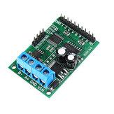 3pcs 6-24V 8CH Canal RS485 Módulo Modbus RTU Protocolo AT Comando Relé multifunción Tarjeta de control PLC