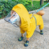 Pet Dog Raincoat Four Feet Waterproof PetS Articles Clothing Spring Suitable For Rainy Days From