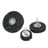 EN IYI 6mm Shank Siyah Elmas Pas Kaldırma Taşlama Diskleri Boya Soyma Zımpara Tekerlek
