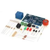 3pcs Kit electrónico DIY MQ-3 Sensor Probador de detector de alcohol Conjunto de componentes del sistema de alarma