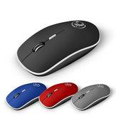 1600DPI 2.4Gワイヤレス超薄型4ボタンミュートマウスビジネスオフィスマウス