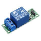 5pcs TK10-1P 1 canal module de relais de haut niveau 10A MCU relais d'extension 12V