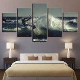 5 PCS Modern Home Room Wall HD Arte Imagem Surf Spray Decoração Pintura Paredes Adesivo