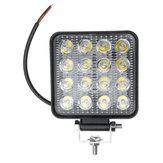 48W 6000K LED Work Light Bar Driving Лампа Для бездорожья Авто Внедорожник Грузовик Van Camper
