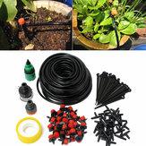 95pcs 82ft micro système d'irrigation goutte à goutte plante auto arrosage tuyau de jardin bricolage