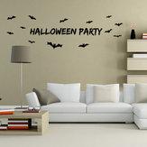 Miico AW9352 Halloween Wandaufkleber Removable Sticksrs Für Halloween Party Dekoration Raumdekorationen
