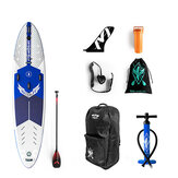 WATER LIVE Cool Force 11.6x32x6inch Surfboard 15-18PSI Max Load 110kg Water Sports SUP Board Stand Up Paddle With Pump Adjustable Paddle Leash Fin Backpack