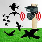 All'aperto solare PIR Sensore Disinfestazione Repeller Animal Repeller Bats Bird Dogs Scarer
