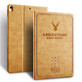 Bakeey Deer Pattern PU Leather Auto-sleep Foldable Flip with Stand Full Cover Tablet Protective Case for iPad Air / Air 2 for iPad Pro 9.7 inch 10.5 inch