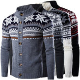Herren Winter Pullover Strickwaren Strickjacke Mantel Dicke Jacke Strickjacke Outwear