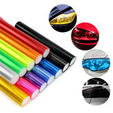 30cmx0.6m Car Light Headlight Taillight Tint Vinyl Film Sticker Easy Stick Motorcycle Decoration 13 Colors