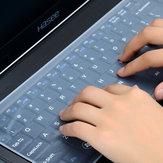 Protecteur de clavier pour ordinateur portable étanche 14 / 15,6 pouces Housse pour clavier d'ordinateur portable Ordinateur portable pour ordinateur portable Silicone anti-poussière