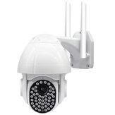 Guudgo 47 LED 1080P 2MP IP Cámara al aire libre Velocidad Dome Inalámbrico Wifi Seguridad IP66 Impermeable Cámara Pan Tilt 4XZoom IR Vigilancia CCTV en red