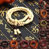 Pulsera de meditación budista de sándalo