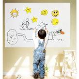 Adesivo Whiteboard auto-adesivo À Prova D 'Água Móvel Kid Apagável Roll Up Mensagem Adesivo de Parede Mesa