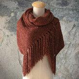 Bufanda de mujer Chenille Soft y cómodo chal de bufanda
