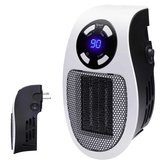 600W Portable Ceramic Mini Space Air Heater Plug-in Wall-Outlet For Office House Space Heater