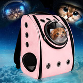 Astronaut Capsule Bernapas Pet Puppy Cat Travel Bag Ruang Carrier Bag