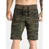 Shorts de running con estampado de camuflaje transpirable