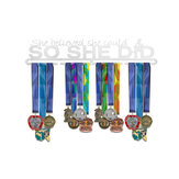 Stainless Steel Metal Medals Display Hanger Rack Running Sport Metal Rack Hook Sport Medal Holder