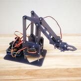 Manipulador de acrílico de brazo robótico de escritorio UNO Kit de robot electrónico DIY