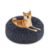 Cão Cama para animais de estimação Cama para gatos Cuddler Fur Cuddler Size Comfortable Ultra Ultra Soft Cama tranquilizante para cães e gatos Aquecimento automático Snooze Indoor Almofada de dormir Cama
