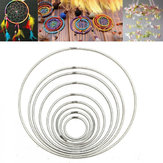 35mm ~ 160mm Strong Metal Dreamcatcher / Macrame Craft Hoops / Ring Feather