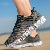 Breathable Elastic Mesh Casual Soft Outdoor Running Sneakers